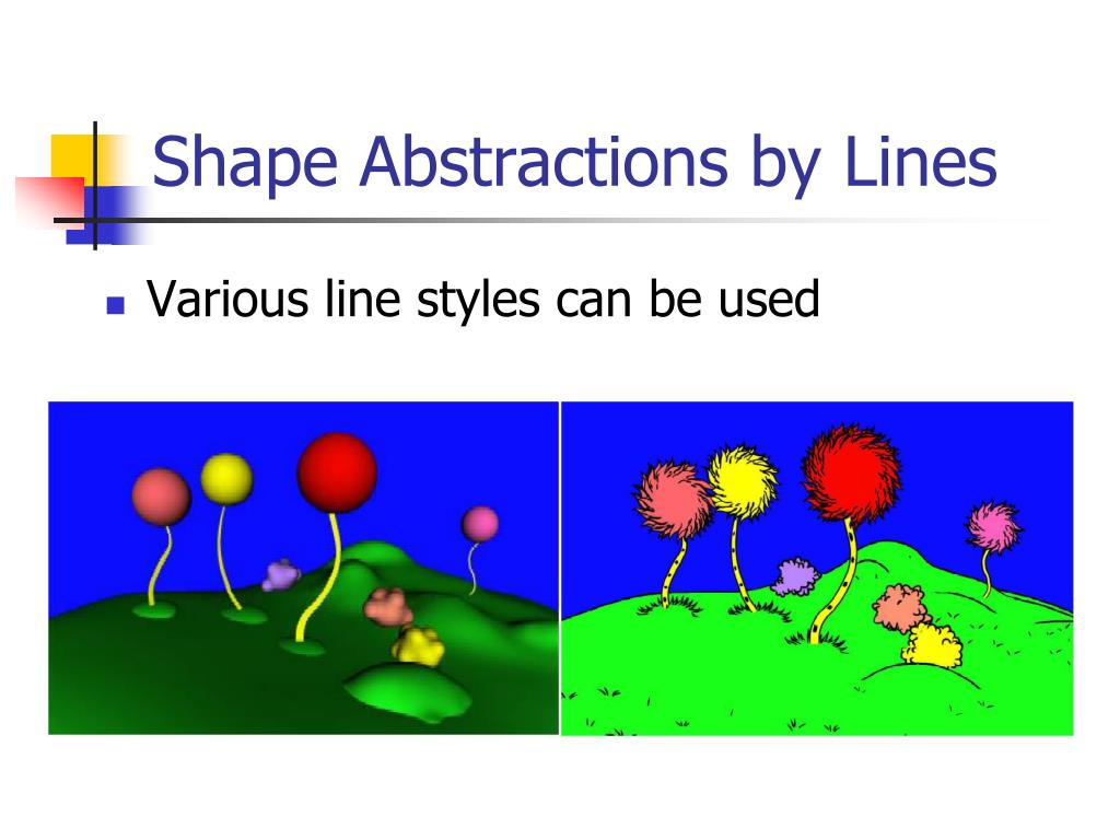 Shape Abstractions by Lines