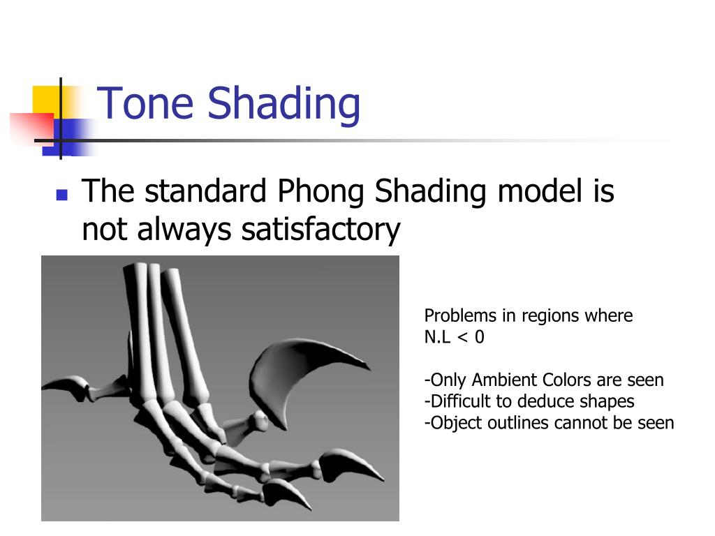 Tone Shading