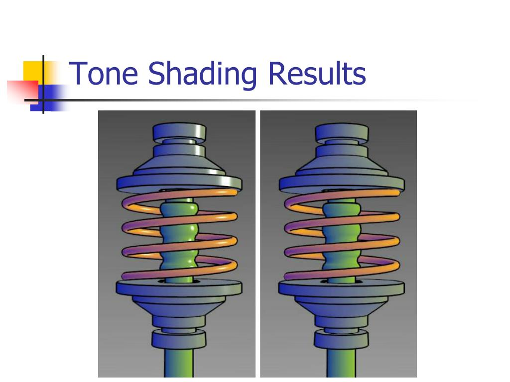 Tone Shading Results