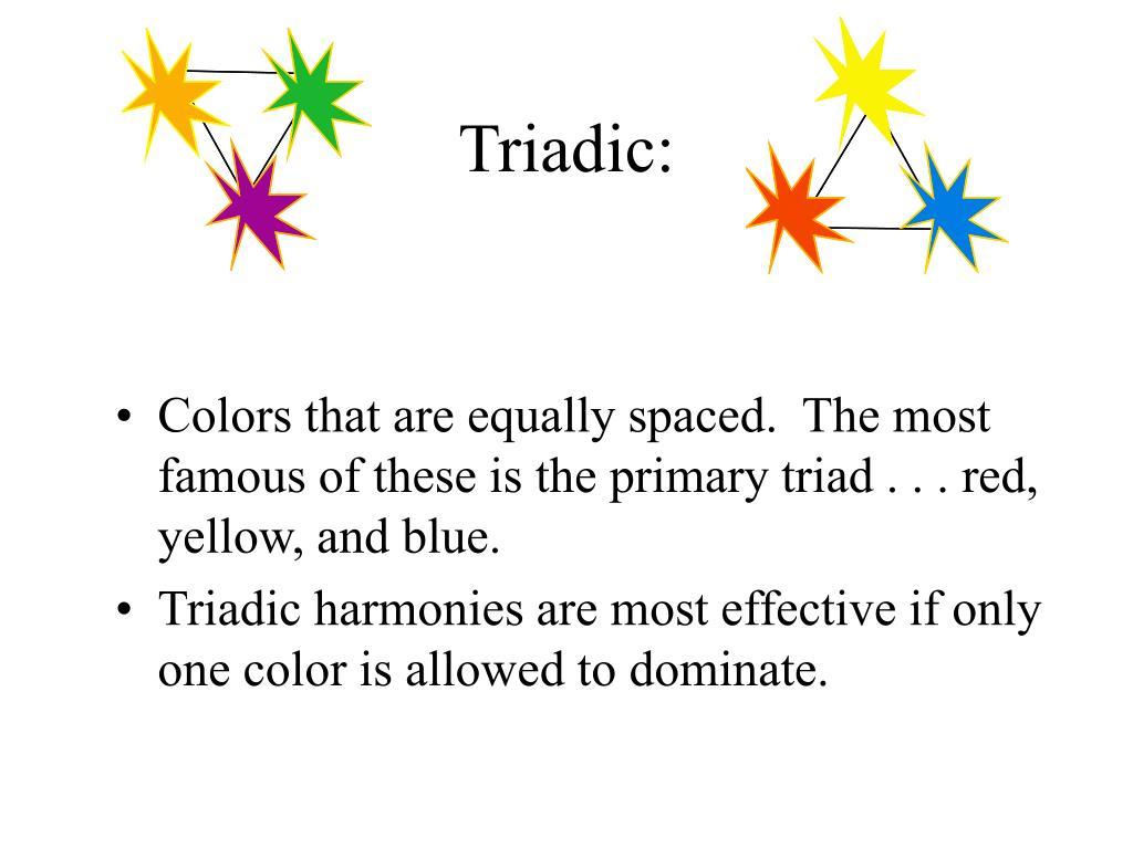 Triadic: