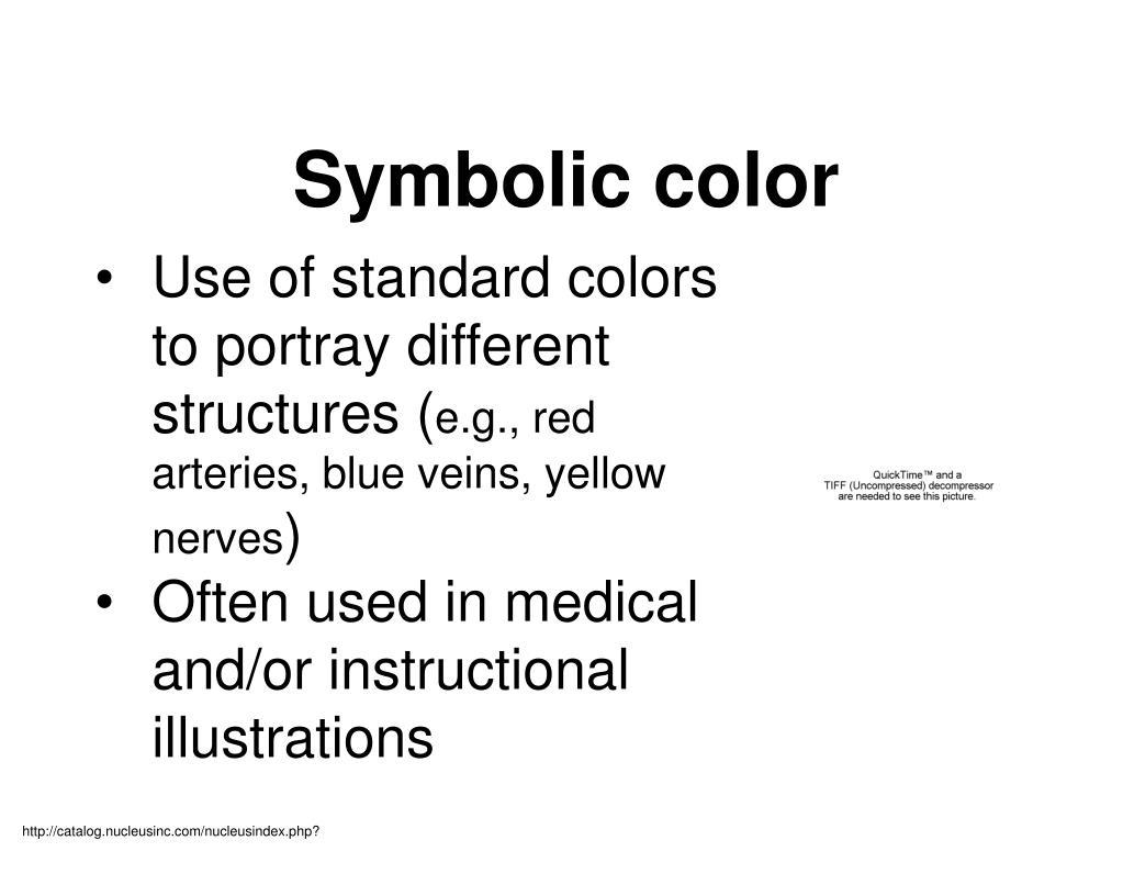 Symbolic color