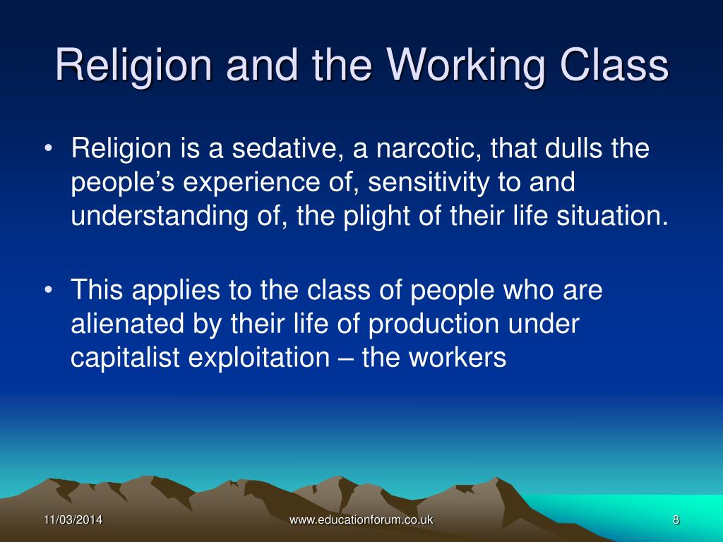 Religion and the Working Class