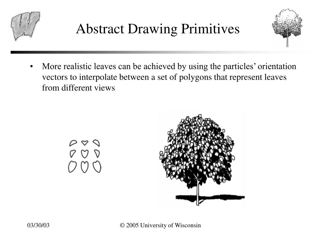 Abstract Drawing Primitives