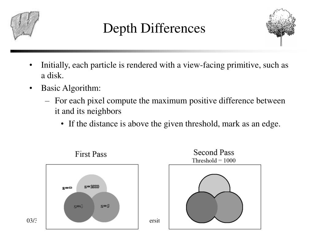 Depth Differences