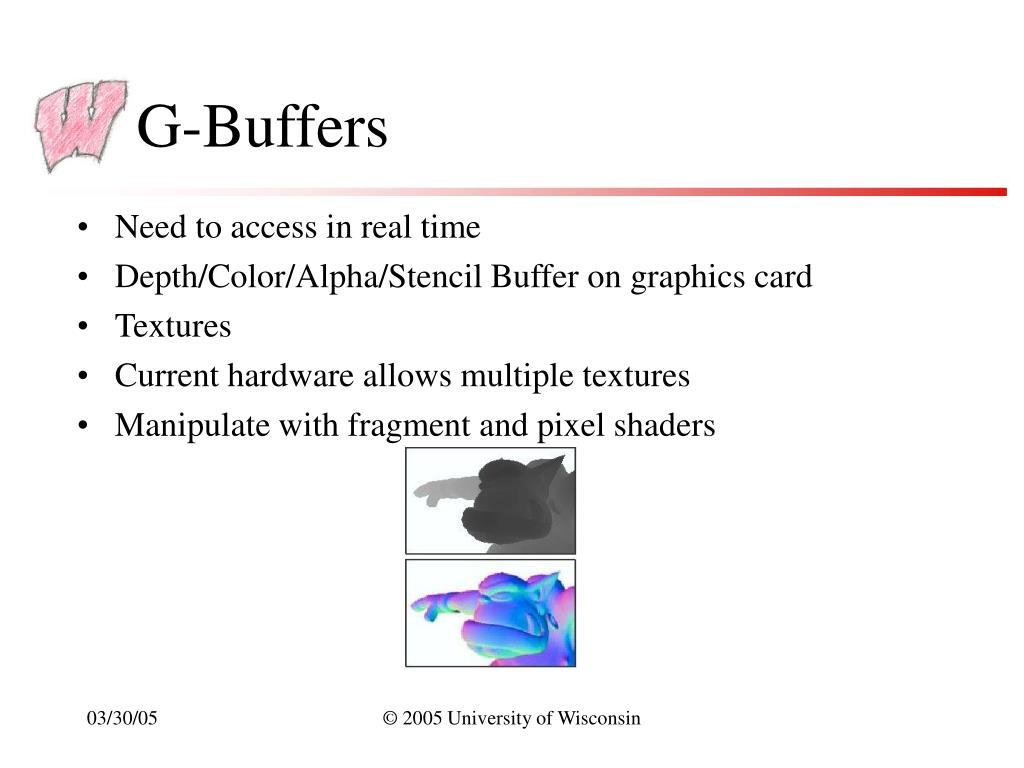 G-Buffers