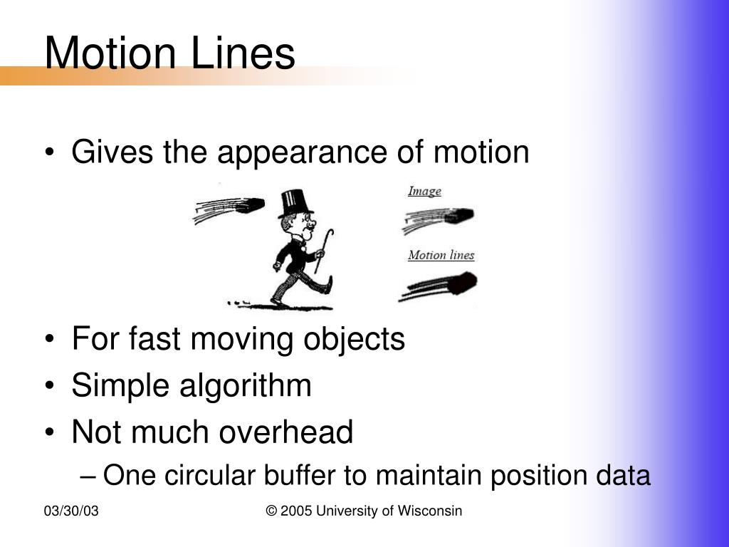 Motion Lines