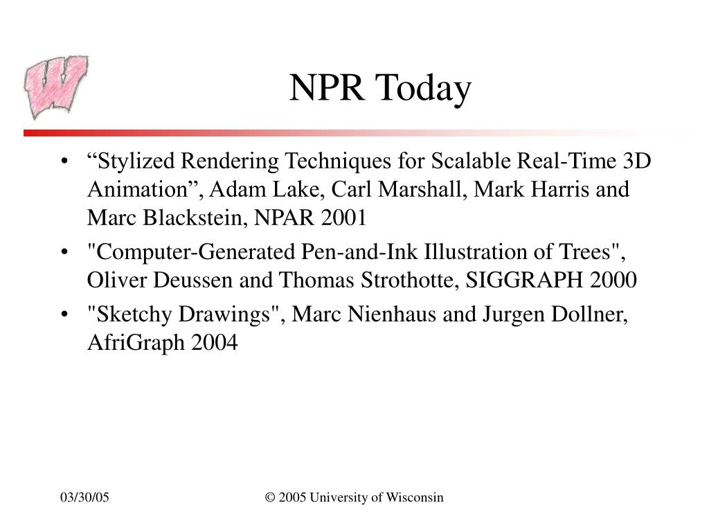 NPR Today