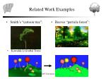 related work examples