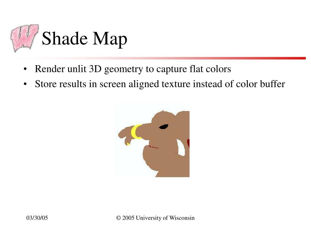 Shade Map