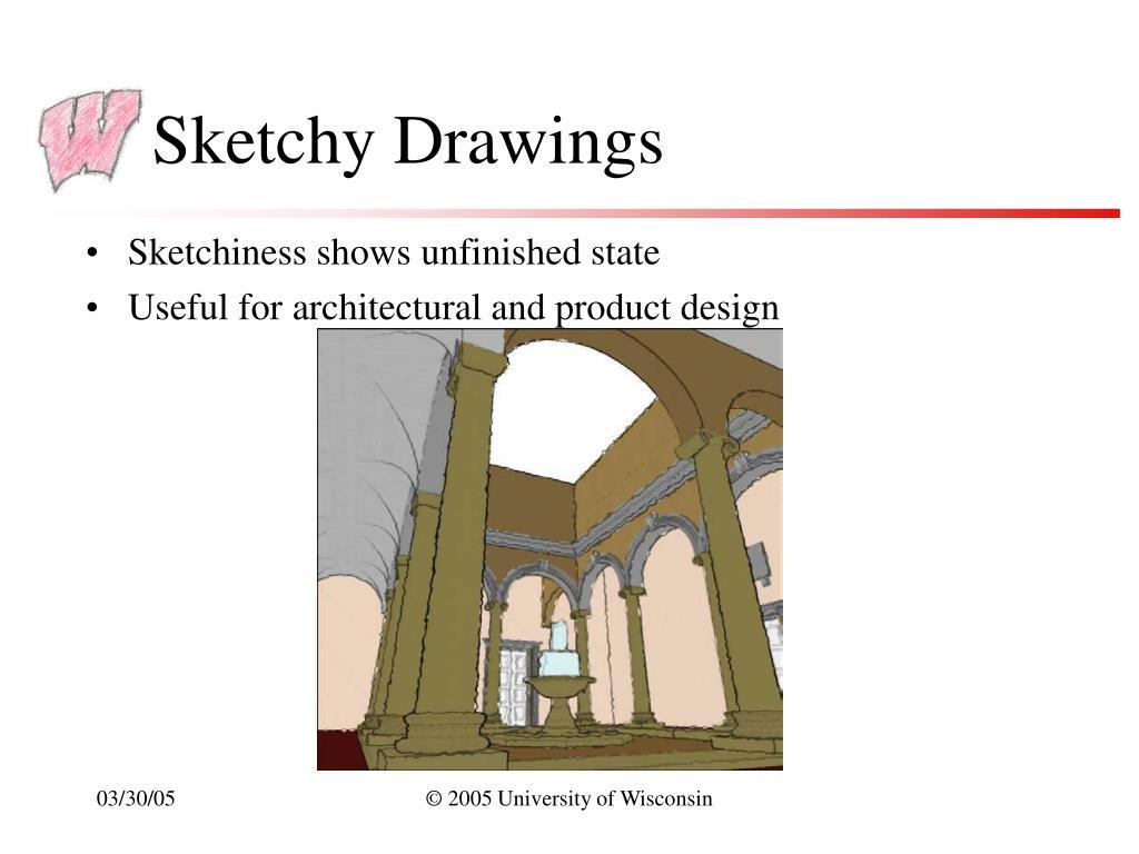 Sketchy Drawings