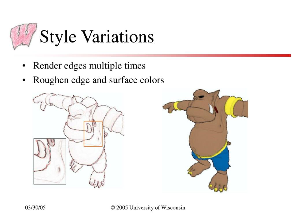 Style Variations