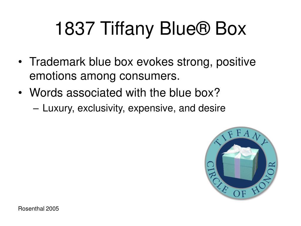 1837 Tiffany Blue