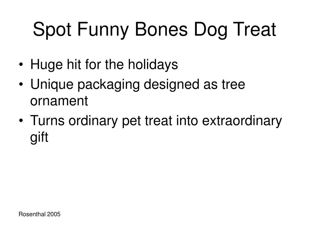 Spot Funny Bones Dog Treat
