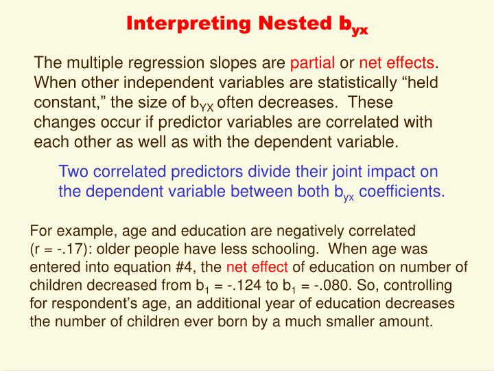 Interpreting Nested