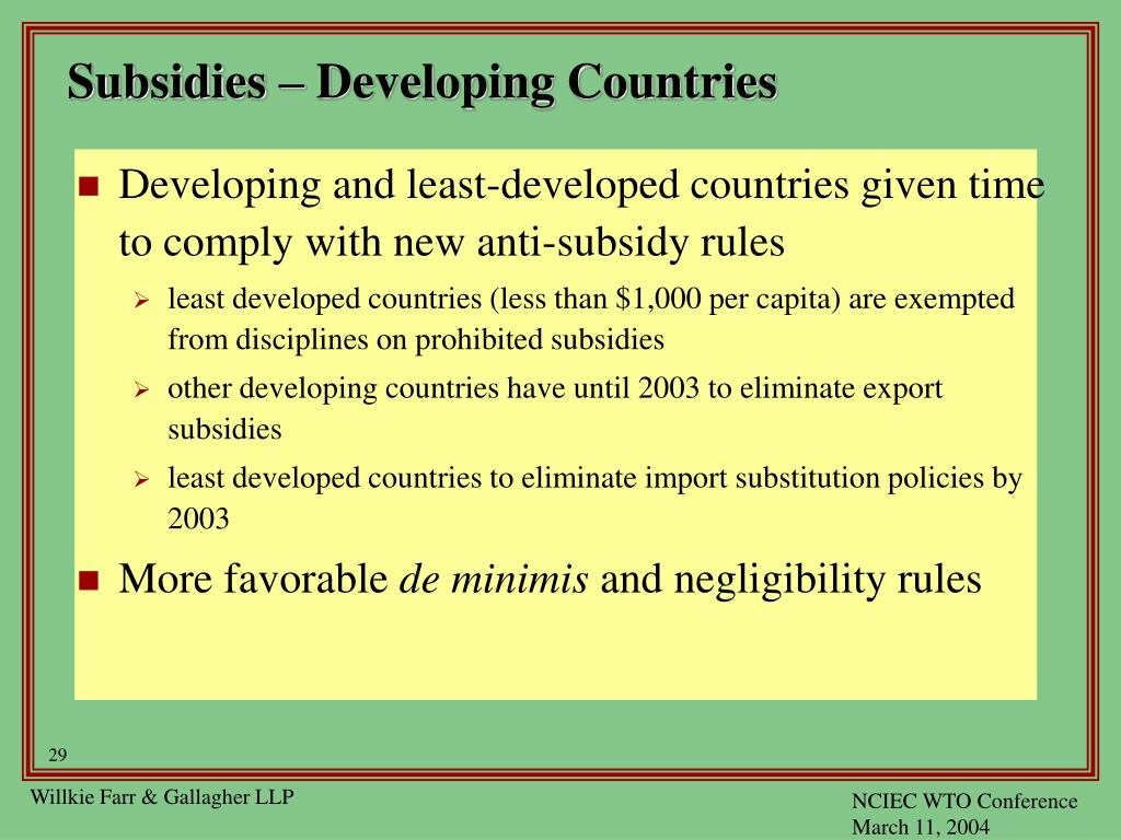 developing country