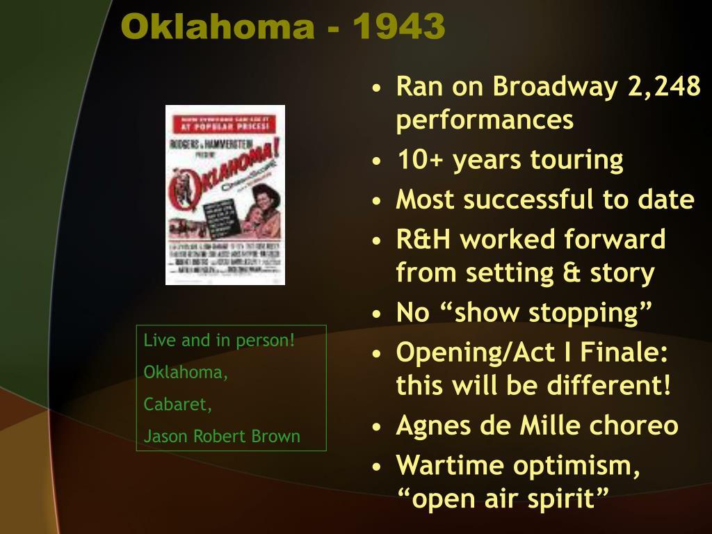 Oklahoma - 1943