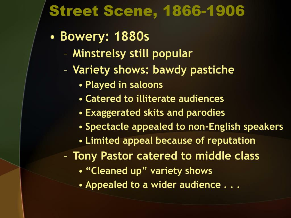 Street Scene, 1866-1906