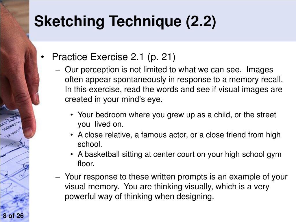 Sketching Technique (2.2)