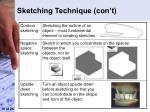 sketching technique con t10