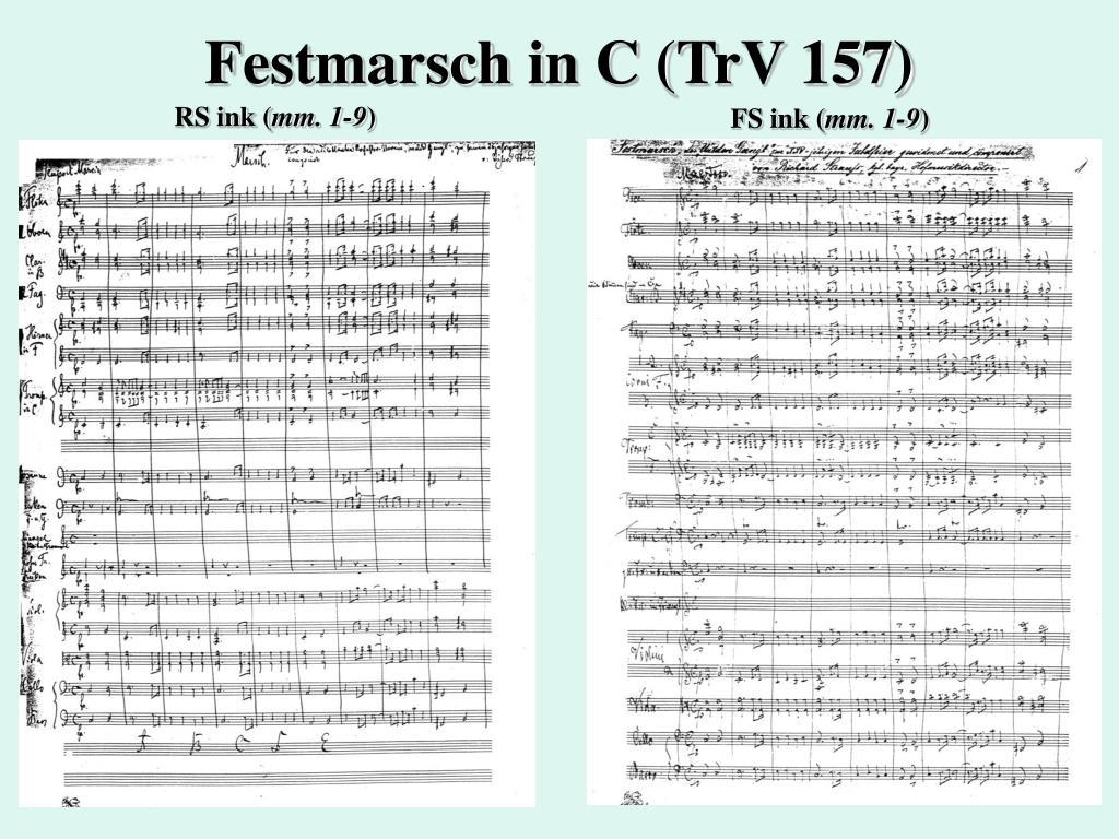 Festmarsch in C (TrV 157)