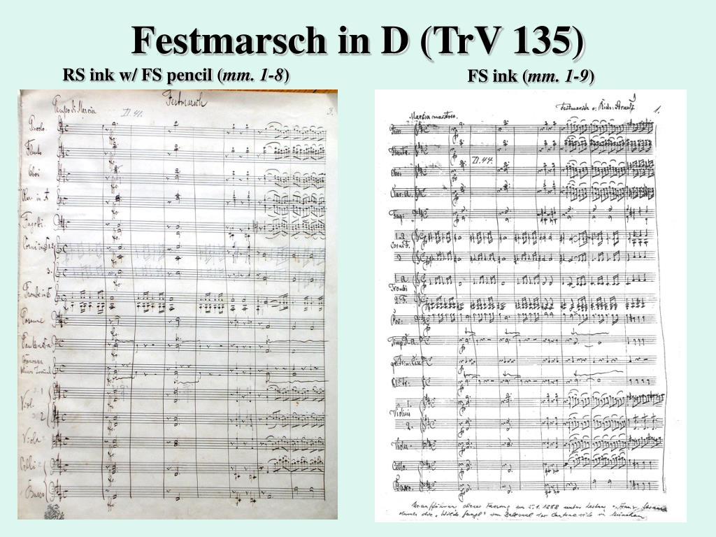 Festmarsch in D (TrV 135)