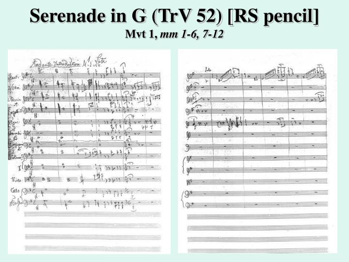 Serenade in g trv 52 rs pencil mvt 1 mm 1 6 7 12