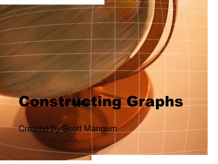 Constructing graphs