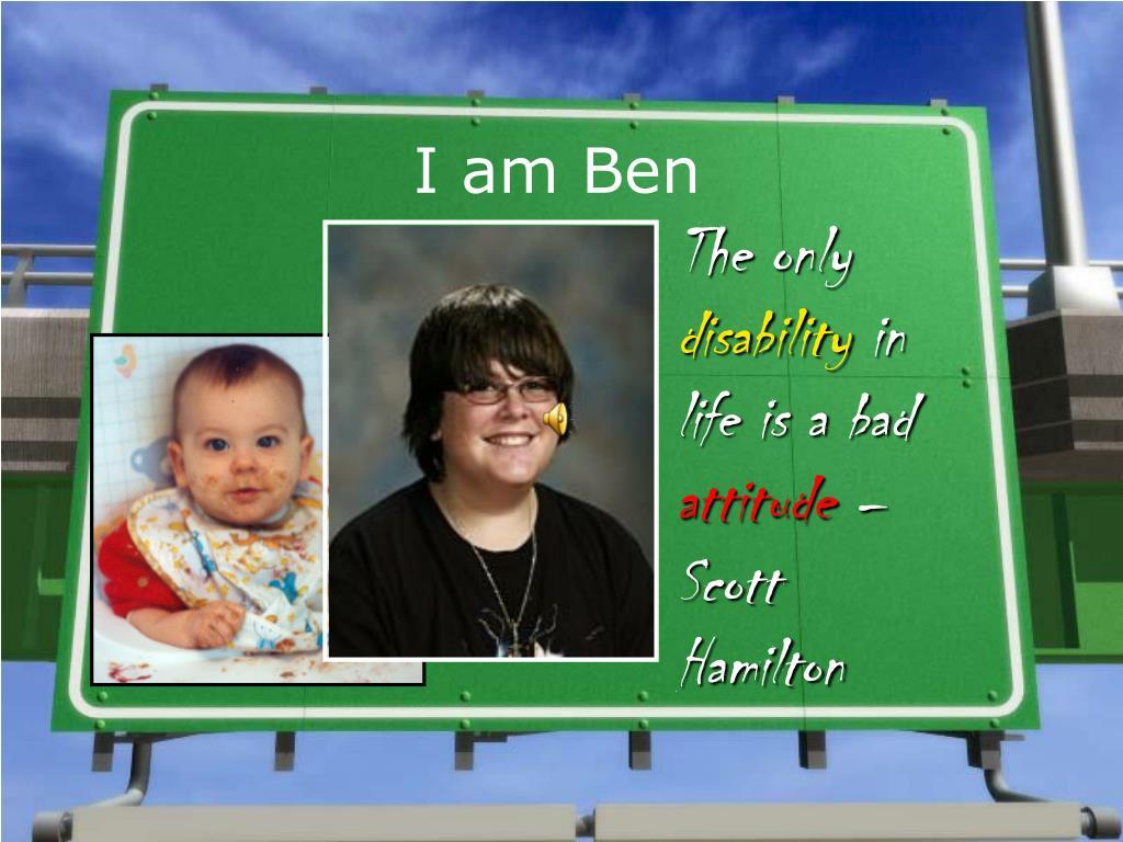 I am Ben