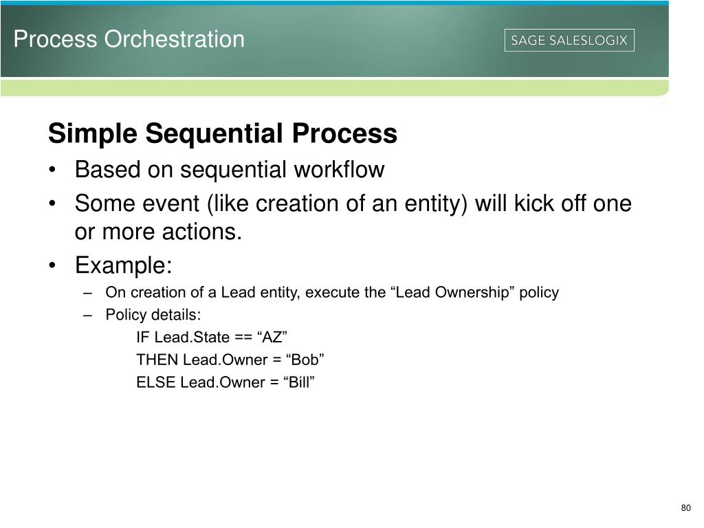 Process Orchestration