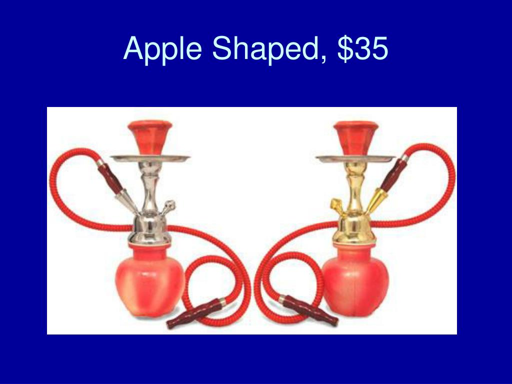 Apple Shaped, $35