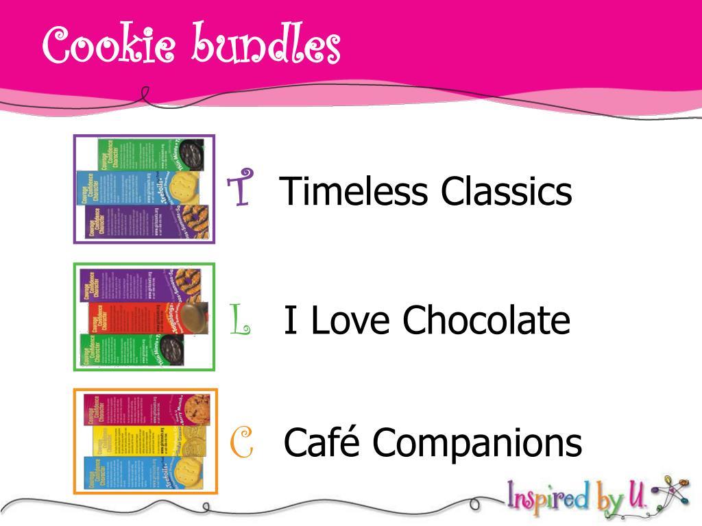 Cookie bundles