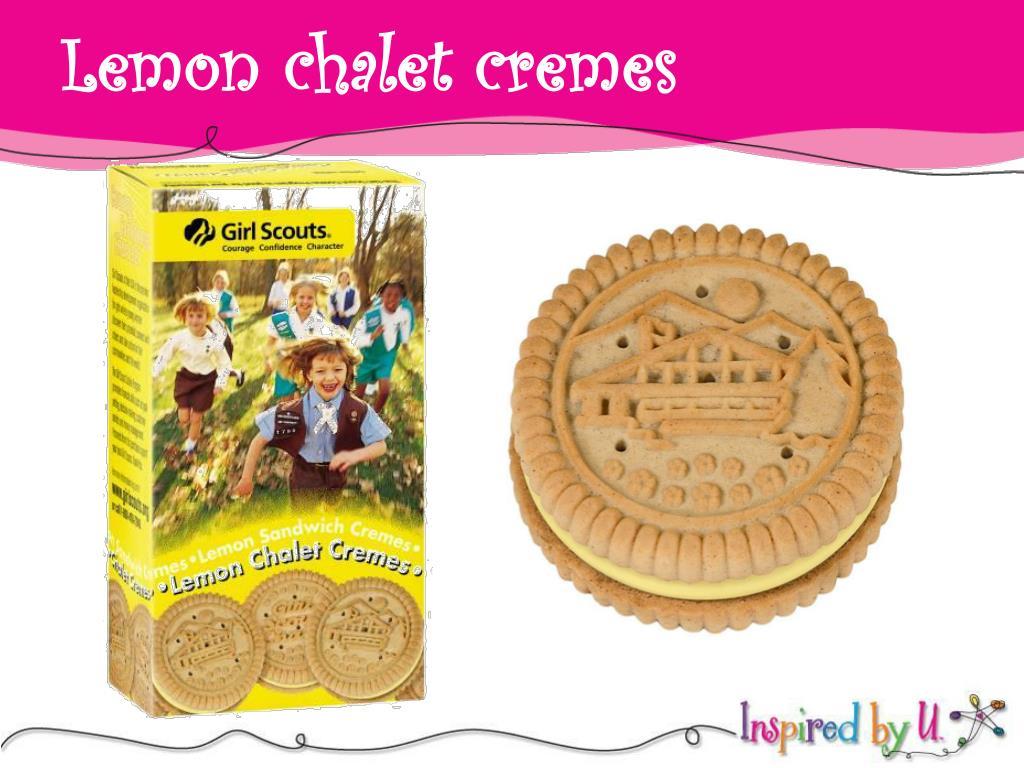 Lemon chalet cremes