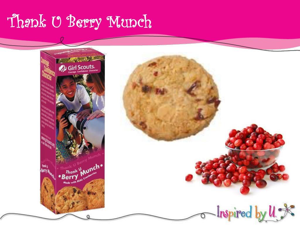 Thank U Berry Munch