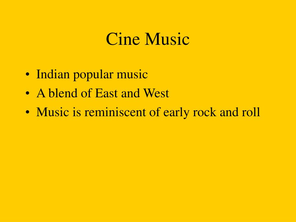Cine Music