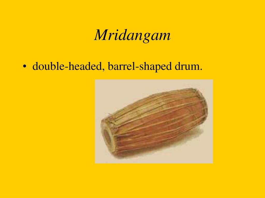 Mridangam