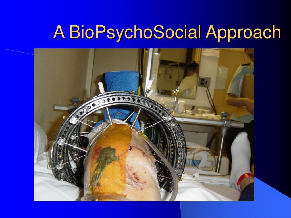 A BioPsychoSocial Approach