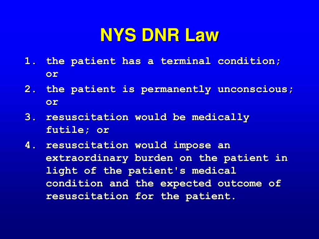 NYS DNR Law