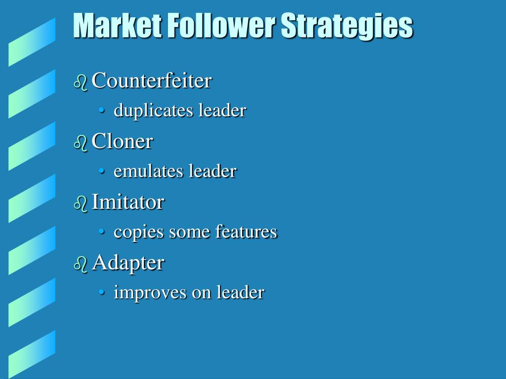 Market Follower Strategies