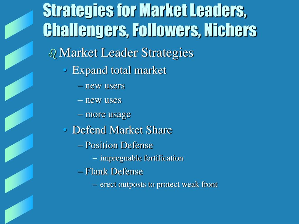 Strategies for Market Leaders,