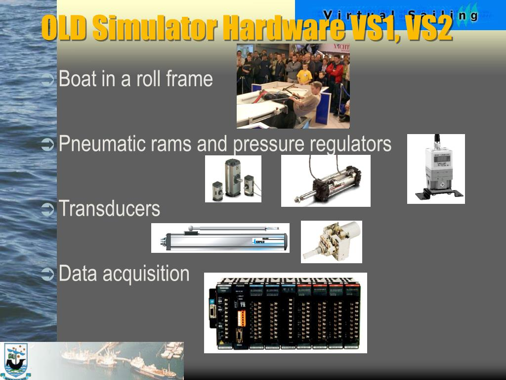 OLD Simulator Hardware VS1, VS2