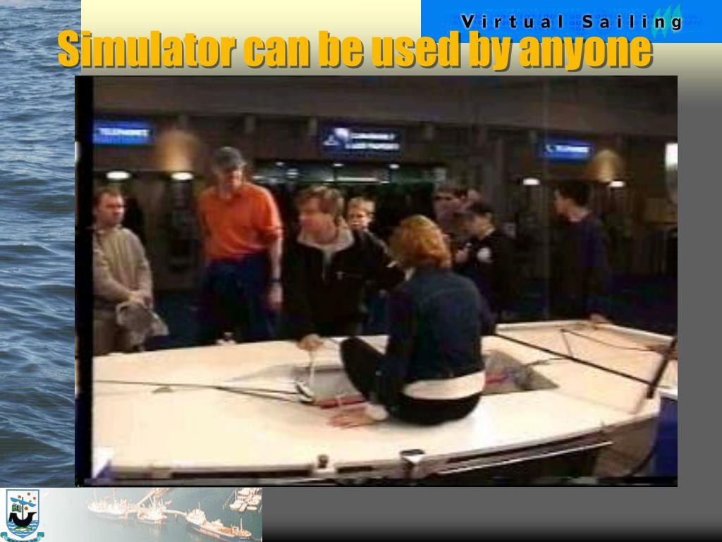 Simulator can be used by anyone