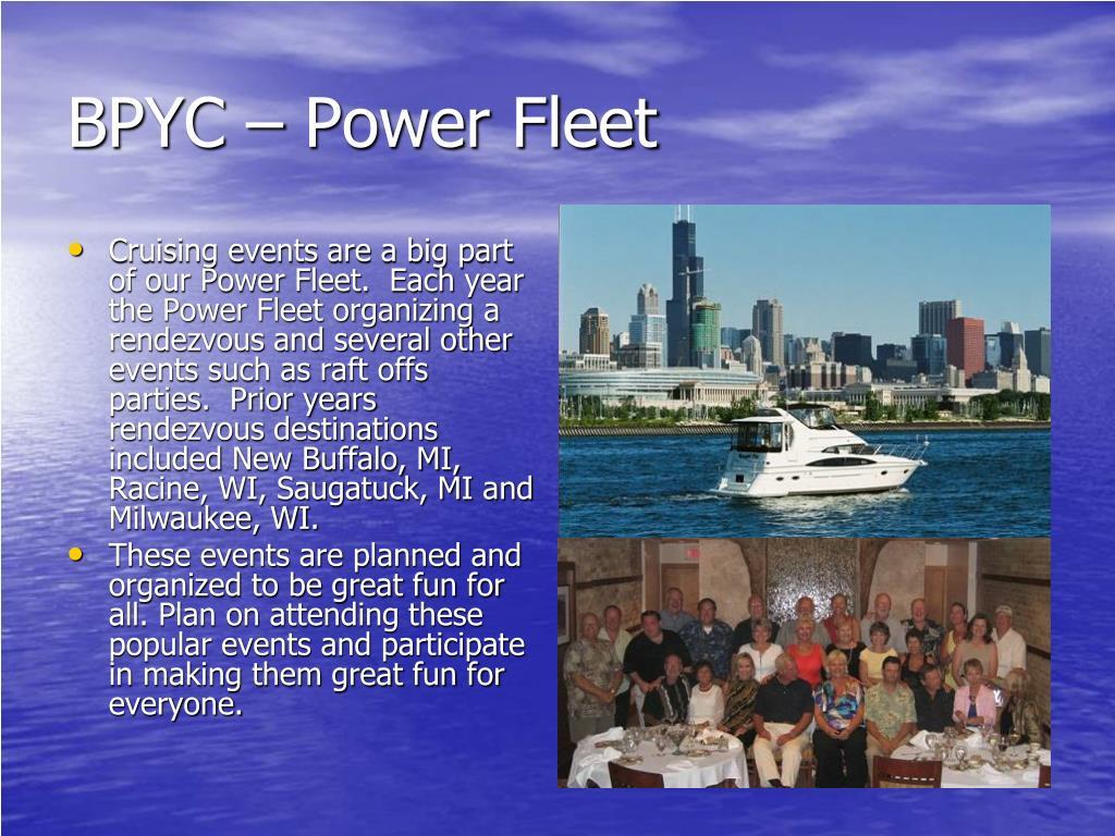 BPYC – Power Fleet