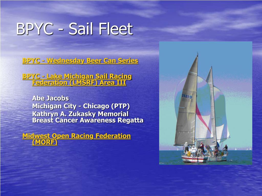 BPYC - Sail Fleet