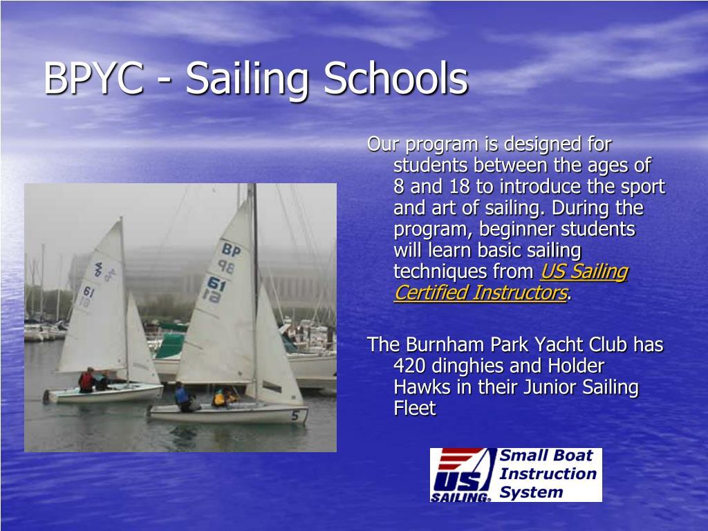 BPYC - Sailing Schools