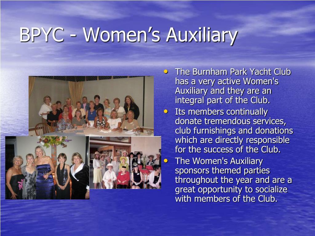 BPYC - Women's Auxiliary