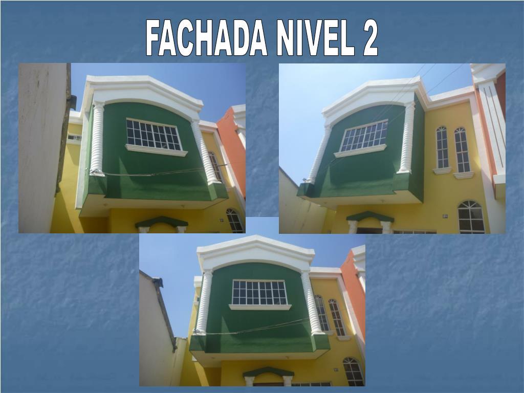FACHADA NIVEL 2