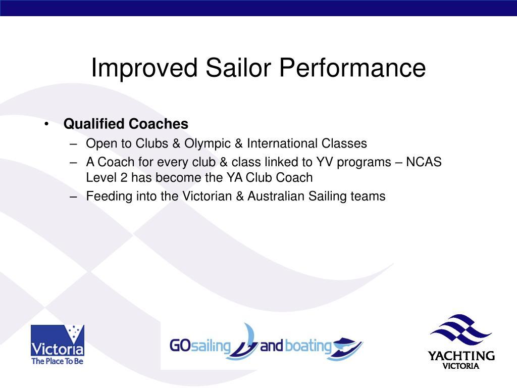 Improved Sailor Performance