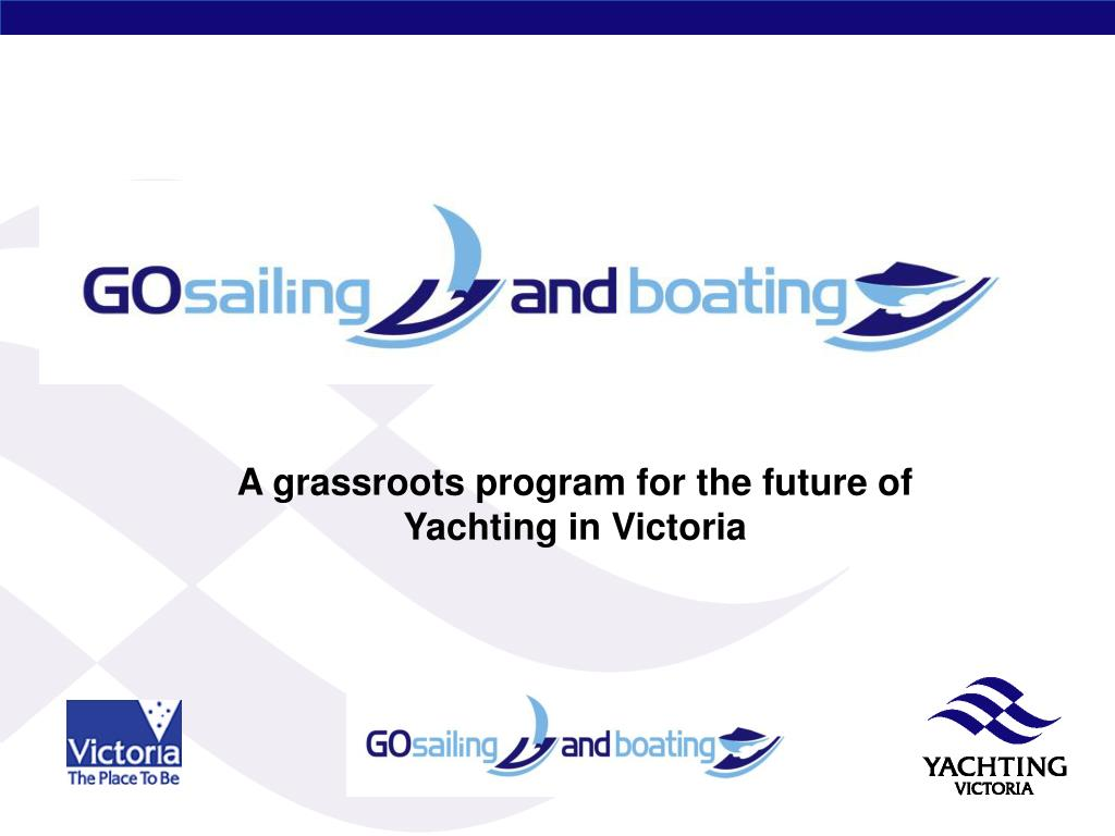 A grassroots program for the future of Yachting in Victoria