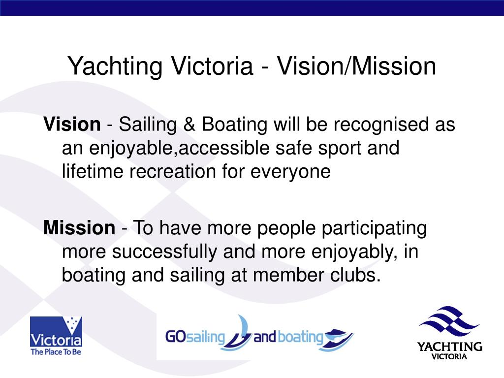 Yachting Victoria - Vision/Mission