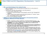 other finra and b d regulatory developments cont d22